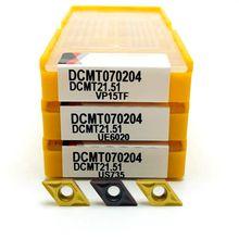 Narzędzie z węglików spiekanych DCMT070204 US735 zewnętrzne metalowe narzędzie tokarskie tokarka tokarko-frezarka narzędzia CNC DCMT 070204 frez