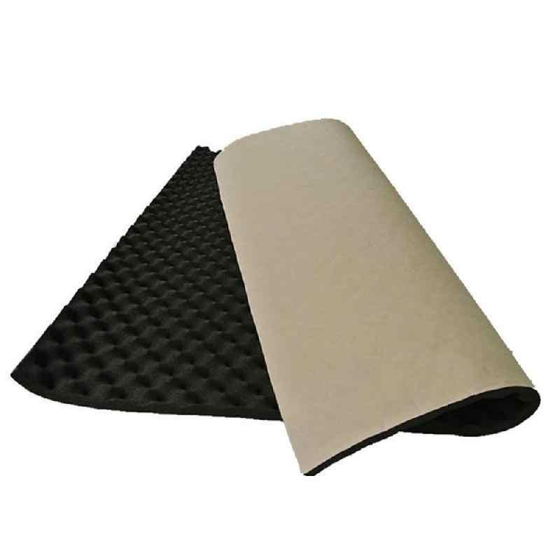 100x50cm Car Sound Deadener Mat Sound Deadening Noise Insulation Acoustic Dampening Foam Subwoofer Mat autos Accessories