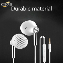 KISSCASE 3.5mm Wired Earphone Earbuds Headset in Ears 6D Stereo Bass Surround Wi