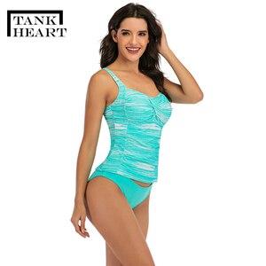Image 3 - Женский купальный костюм из двух предметов, размеры xxl