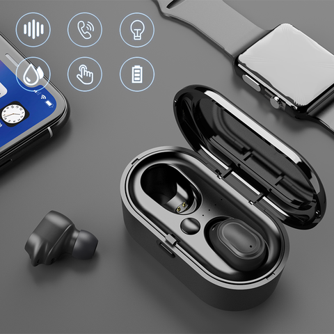 Bluetooth Headset TWS Wireless Earphones Earbuds Stereo In-Ear Headphones -Air2 Pakistan