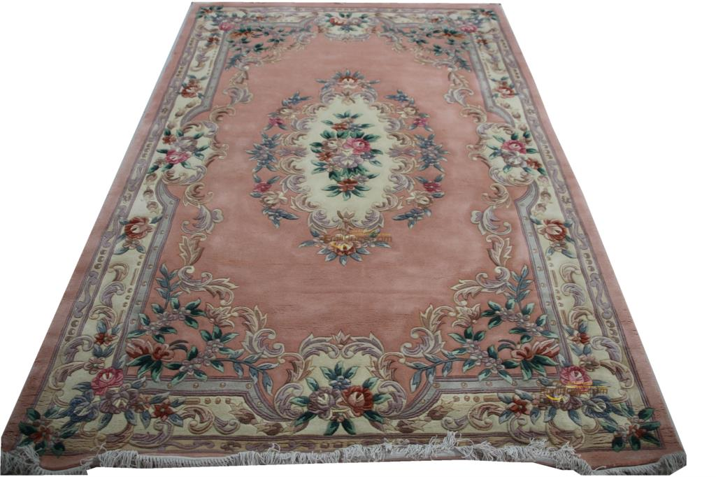 Woven Carpet Top Fashion Tapete Details About 9. X 12 Hand-knotted Thick Plush Savonnerie Rug