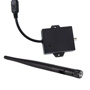 Image 5 - Dc 12V Zwart Duurzaam Draadloze Achteruitrijcamera Kabel Auto Av Naar Wifi Gemakkelijk Installeren Achteruitrijcamera Module Met Antenne zender