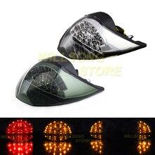 الخلفية LED الذيل ضوء الفرامل الوامض بدوره إشارة مصباح متكامل ل KTM 990 سوبر DUKE R 2010 2013 دراجة نارية الملحقات أجزاء