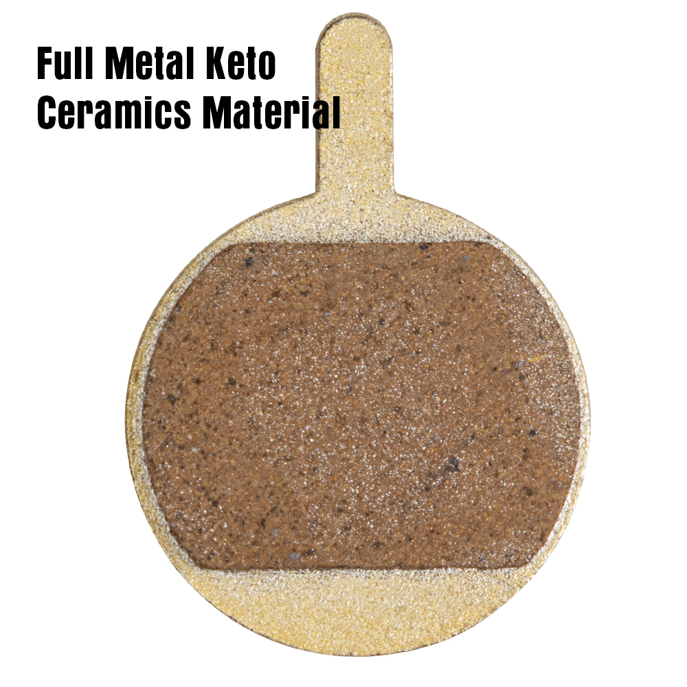 Full Metal Keto Ceramics bicycle disc brake pads for Promax DSK400 DSK700 DSK810 DSK601J & XNINE for passing TUV and AOV TEST