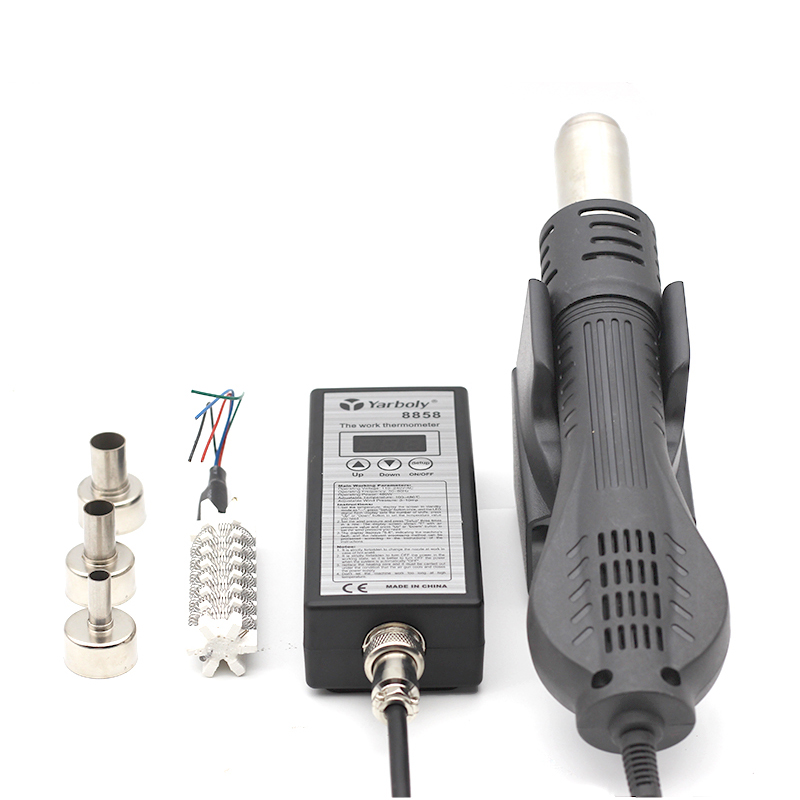 Portable Soldering Heat Gun for Blowing Hot Air While Soldering IC Chip of Mobile and Laptop 8