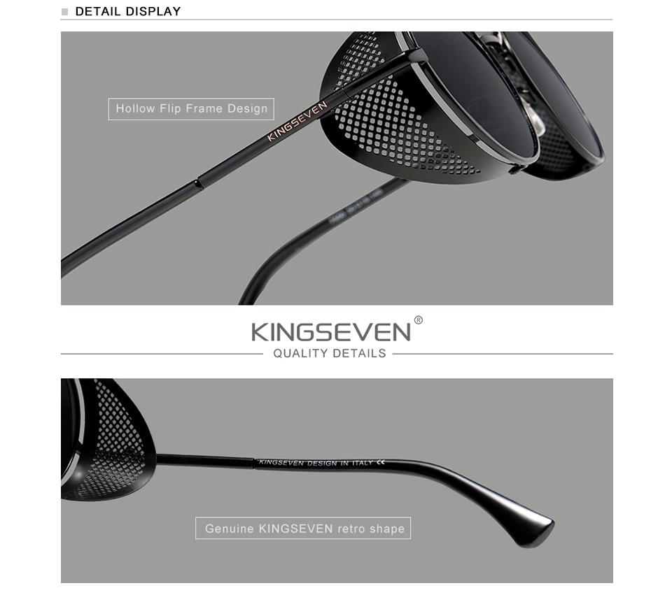 H054bbd2e1d9845e1b945b6152be7aff8T Genuine GIFTINGER Retro Round Steampunk Sunglasses Men Retro Women Sun Glasses Shades Vintage Travel Eyewear Gafas De Sol 7550
