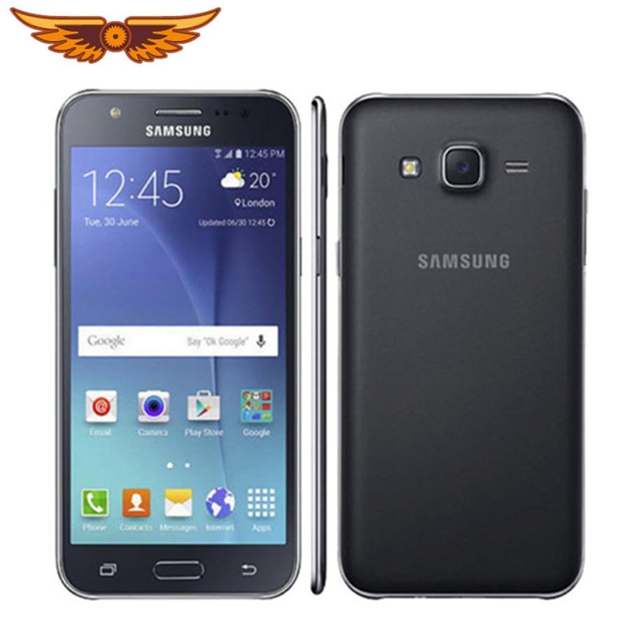 Original Entsperrt Samsung Galaxy J5 J500F 5,0 Zoll Quad Core 1,5 GB RAM 8GB ROM 13,0 MP Dual SIM karte Bluetooth Handy