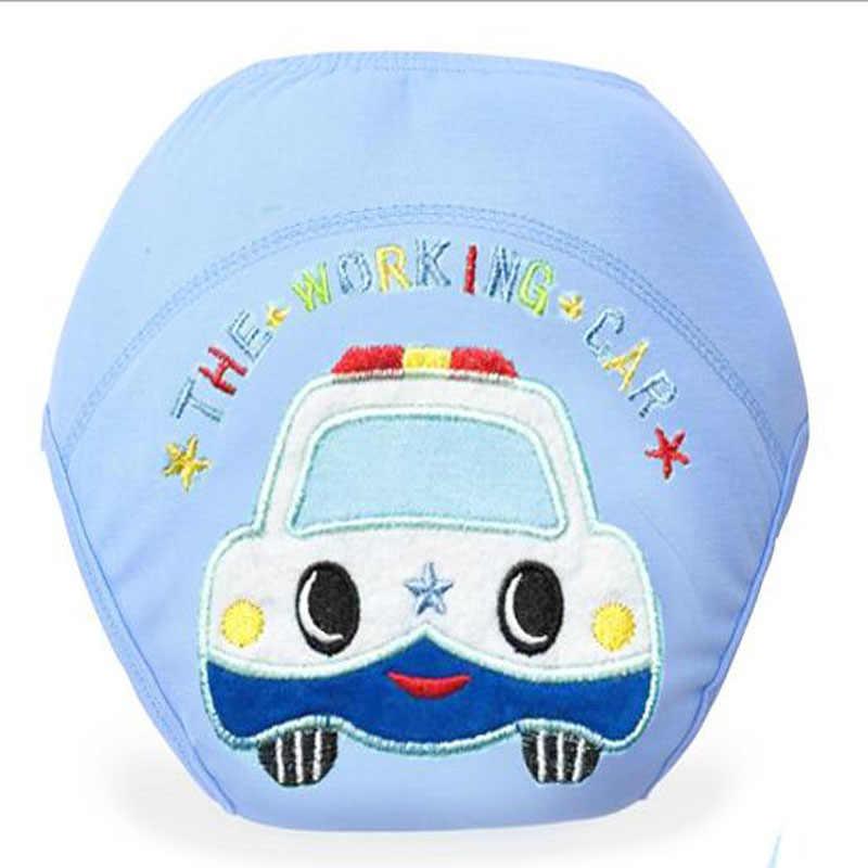 لطيف طفل حفاضات قابلة لإعادة الاستخدام الحفاظات القماش حفاضات قابل للغسل الطفل سراويل قطنية للتدريب