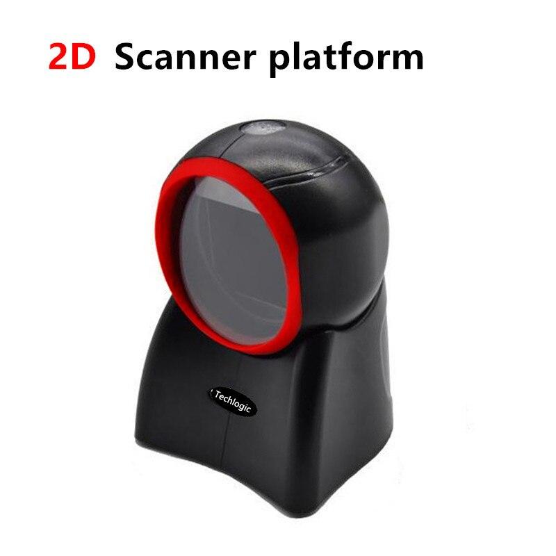 Techlogic NT4010 2D skaner kodów kreskowych platforma dookólny skaner kodów kreskowych Supermarket kod kreskowy pistolet
