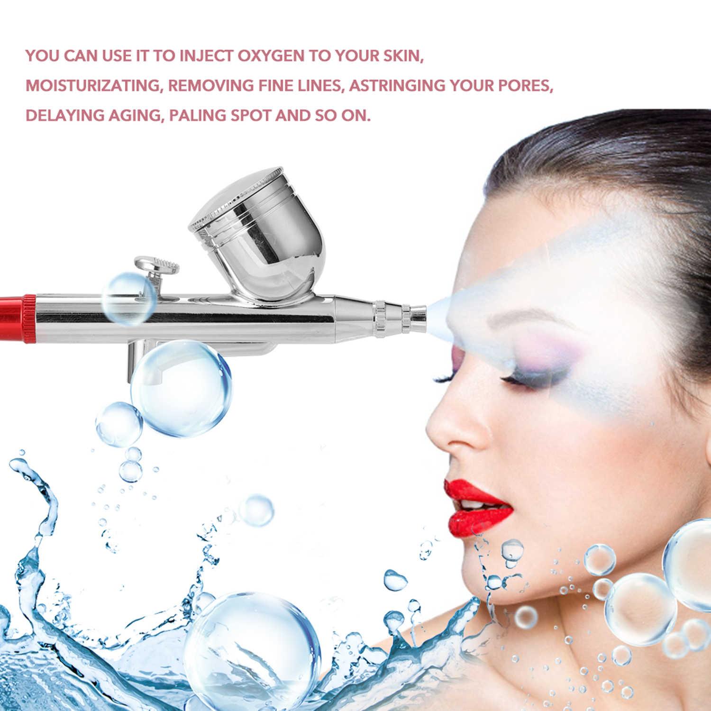 Draagbare Spray Pomp Pen Air Compressor Set voor Art Schilderen Craft Taart Spuiten Model Airbrush Kits airbrush met compressor