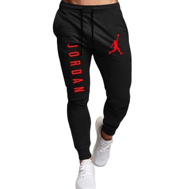 2020 Casual Pants Men Joggers Sweatpants Solid Color Trousers Fitness Sportswear Jogger Track Pant Plus Size S-2XL Summer Spring 2