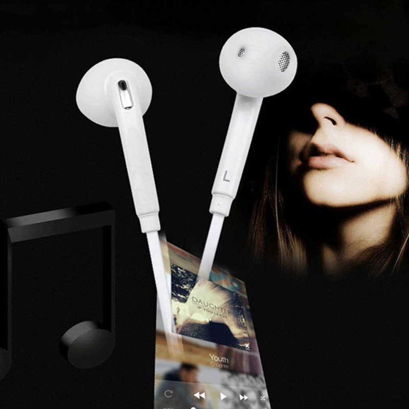 3.5 مللي متر جاك سماعة سماعة في الأذن سماعة ياربود التحكم في مستوى الصوت مع هيئة التصنيع العسكري للهواتف الذكية S6/ S6 Edge