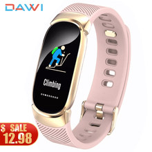 DAWI Smart Watch Women Smart Bracelet Heart Rate Monitor Blood Pressure смарт часы Sport Fitness Tracker Men Smartwatch