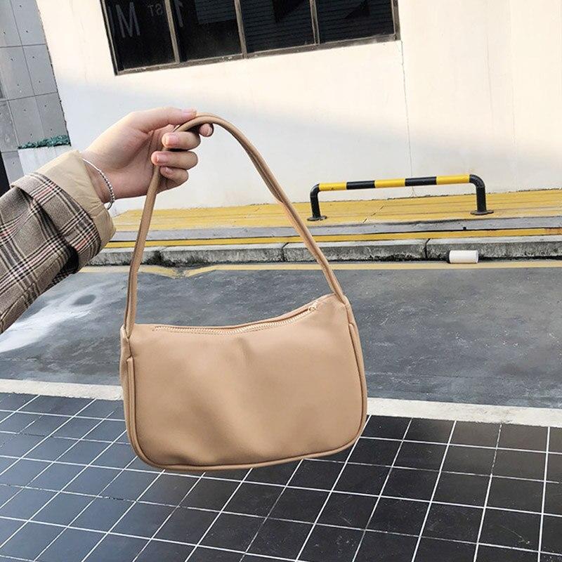 Retro Totes Bags For Women 2020 Trendy Vintage Handbag Female Small Subaxillary Bags Casual Retro Mini Shoulder Bag 1