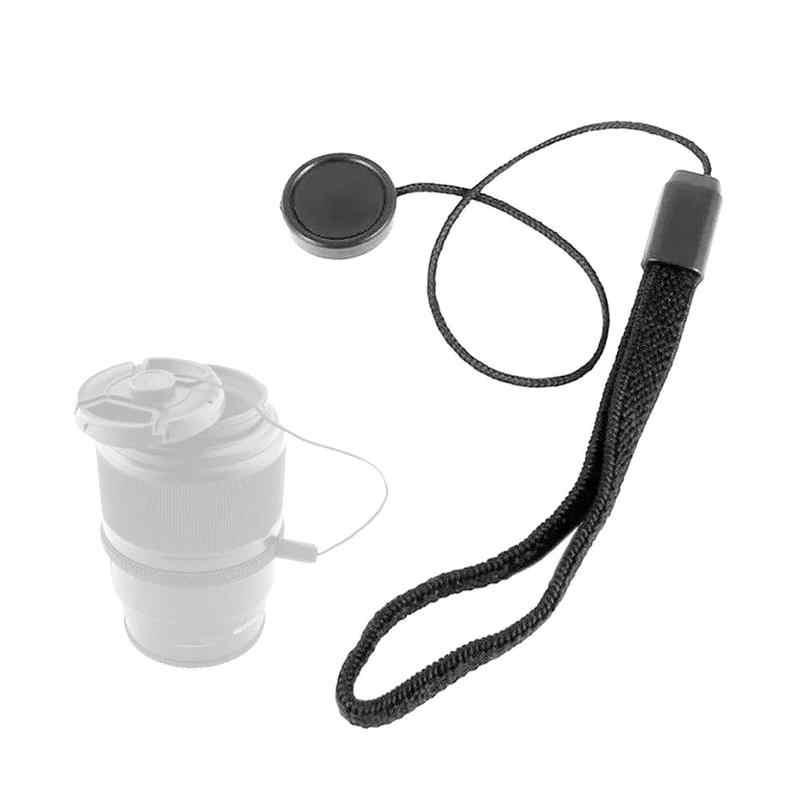 1pc câmera lente capa anti-perdido corda canon 60d d90 pentax boné para sony gf5/gf3 suporte anti-corda panasonic i2l7