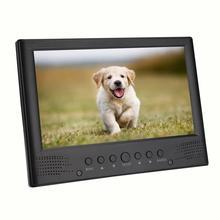 LEADSTAR 9 pouces DVB-T/T2 ATSC Portable télévision numérique haut-parleur avant Mini voiture analogique TV tf-card ATV avec support pour voiture chargeurs