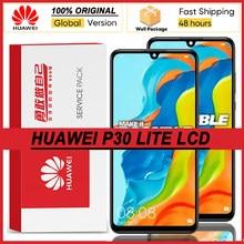 100% original 6.15 display display display com moldura para huawei p30 lite MAR-LX1 lx2 al01 lcd touch screen digitador assembléia peças de reparo