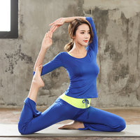 South Korea Loose Fit Breathable Gym Sports Yoga Clothes Suit Women's New Style Three piece Set