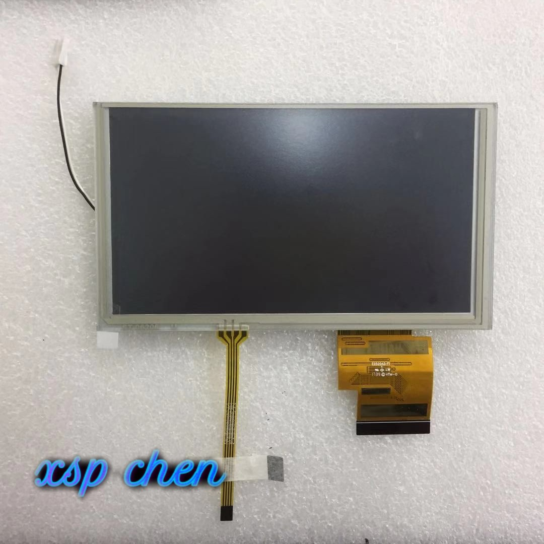 Ffree Shipping 155*88 MM Original 6.2 Inch LCD Screen HSD062IDW1 A00 A01 A02 With Touch Screen For DVD Car GPS Navigation