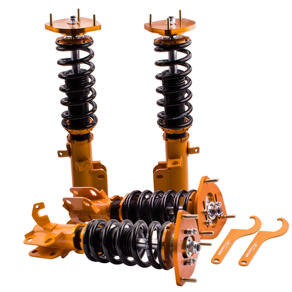 Coilovers Suspension Shocks Absorbers for <font><b>Toyota</b></font> <font><b>Corolla</b></font> Levin E100 E110 AE100 87-2000 AE92 <font><b>AE101</b></font> AE111 Coilover Spring Struts image