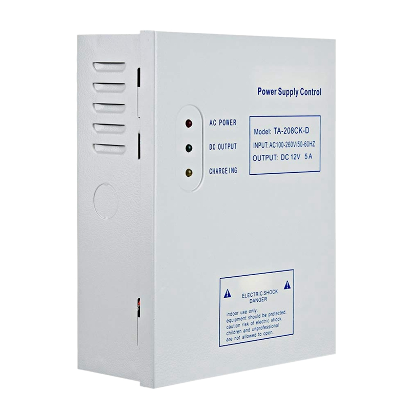 208CK-D AC 110-240V DC 12V/5A Door Access Control System Switching Supply Power UPS Power Supply