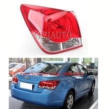 MIZIAUTO Rear tail light outer side For Chevrolet Cruze 2009-2014Brake Light Bumper Tail Stop Lamp Fog Warning