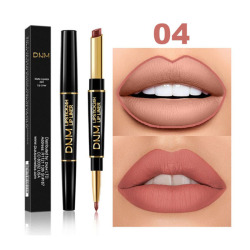 12 Colors Long-lasting Lip Liner Matte Lipsticks Double Head Lip Pencil Stick Waterproof Moisturizing Makeup Contour Cosmetics