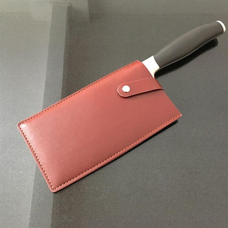 Leather Cutter Knife Bag Leather Case Leather Pouch For Household Kitchen Utensils