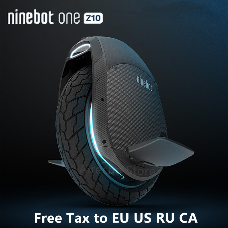 Original Ninebot One Z10/Z6 monocycle auto équilibrage Scooter 1800W 45 km/h avec guidon électrique Hoverboard Support Bluetooth