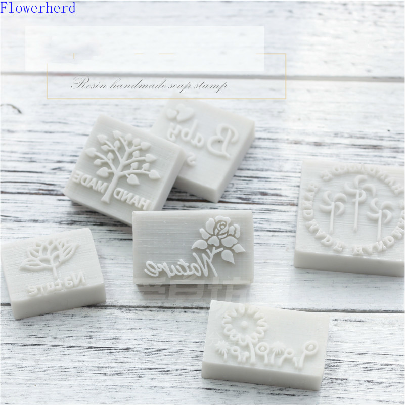 Clear Stamps and Dies Resin Mini Seal English Rose Handmade Pattern Soap Printing DIY Handmade Soap Seal Soap Printing Kscraft|Stamps|   - AliExpress