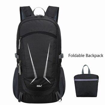 40L Outdoor Camping Bag Waterproof Trekking Laptop Rucksack Sport Backpacks for Men Women Hiking Climbing Mochila Senderismo