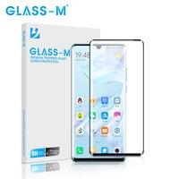 GLASS-M para HUAWEI P30 3D Curvo completa Tampa de Vidro Temperado para Huawei P30 Pro Tela De Vidro Proteger Filme DropShipping