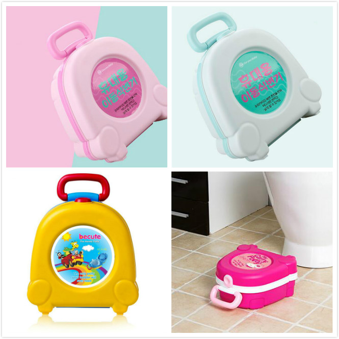 Convenient Baby Toilet Cute Portable Travel Baby Potty Car Squatty Potty Child Pot Training Kids Toilet Seat Children's Pot