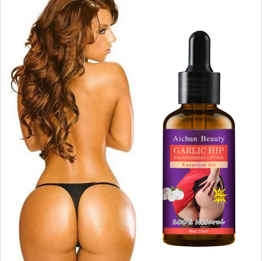 30ML Garlic Sexy Hip Buttock Enlargement Essential Oil Cream Effective Lifting & Firming Hip Lift Up Butt Beauty Big Ass