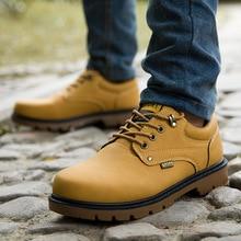 Зимние мужские ботинки; водонепроницаемые ботильоны; мужские военные ботинки; нескользящие ботинки на шнуровке; мужские кроссовки в британском стиле; обувь для работы