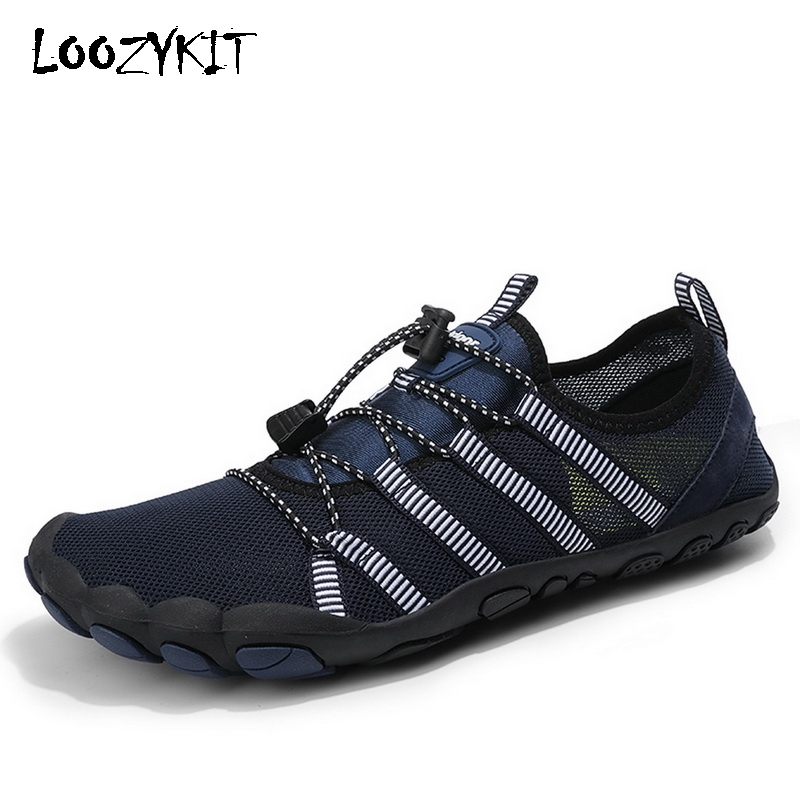 Men Unisex Beach Water Shoes Quick-Drying Swimming Aqua Shoes Seaside Slippers Surf Upstream Light Sports Water Shoes Sneakers