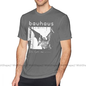 Image 3 - את פולחן T חולצה באוהאוס בת כנפי בלה Lugosi S מת חולצה חוף קצר שרוול טי חולצה מצחיק Mens הדפסה גדול כותנה חולצת טי