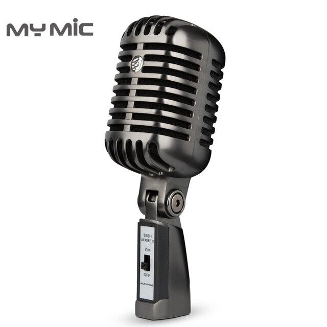 私のマイク放送FG02プロレトロコンデンサースタジオ録音用マイク