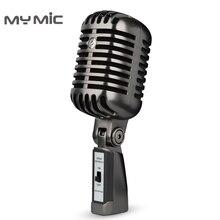 My Mic FG02 micrófono profesional Retro Para grabación de estudio, condensador para radiodifusión