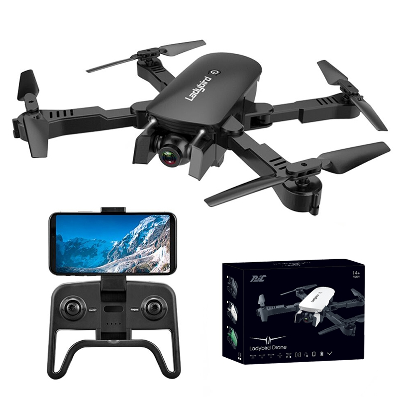 4K Mini Drone Professional Camera HC Foldable Off-Point Quadcopter Gps R8 Height Hold Mode Kids Toy