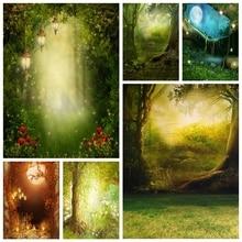 Yeele Fairyฤดูใบไม้ผลิDream Wonderland Magic Forestการถ่ายภาพฉากหลังส่วนบุคคลถ่ายภาพพื้นหลังสำหรับPhoto Studio