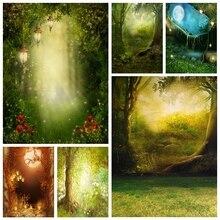 Yeele Fee Frühling Traum wunderland Magie Wald Fotografie Kulissen Personalisierte Fotografische Hintergründe Für Foto Studio