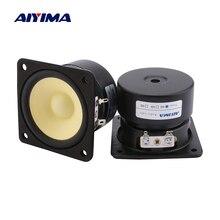 AIYIMA 2Pcs 3 Zoll Vollständige Palette Lautsprecher Fahrer 4 8 Ohm 15W Sound Lautsprecher Verstärker Hause Audio Lautsprecher einheiten Spalte