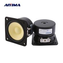 AIYIMA 2Pcs 3 Inch Full Range Speaker Driver 4 8 Ohm 15W Sou