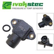 4 Bar 4BAR Air Pressure MAP Sensor For Modified Honda Civic Del Sol Accord CR V HR V Logo Prelude Shuttle Odyssey 37830 P05 A01