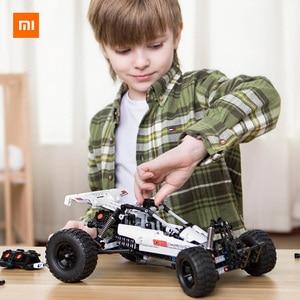 Image 2 - Xiaomi Mijia  Building Blocks Desert racing 6 Years Old Children Puzzle Educational Kids Toys