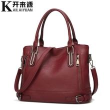 100% Genuine leather Women handbags 2019 New European and American fashion handb