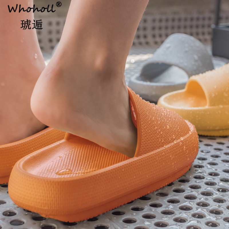 Hot Sale Women Shoes Summer Fashion PU Leather Leisure Shoes Women Platform Wedges Fish Mouth Sandal Thick Bottom Slippers