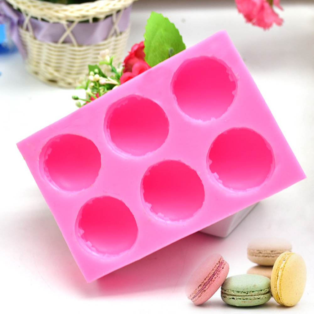3D Heart Wing Circle Square Ring Silicone Chocolate Mold Cake Decorating Tool S8